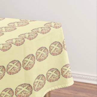 Irish Soda Bread Loaf St. Patrick's Day Kitchen Tablecloth
