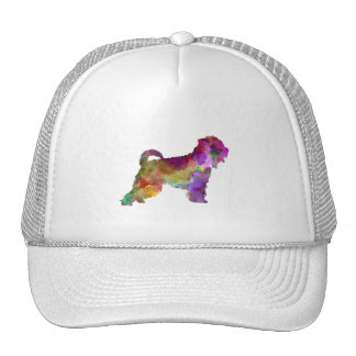 Irish Soft Coated Wheaten Terrier in watercolor.pn Trucker Hat