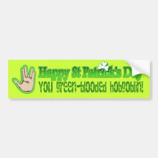 Irish St Patrick s Ireland Shamrock Design Bumper Stickers