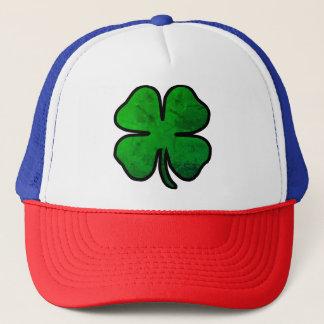 Irish St. Patrick's Day Distressed Shamrock Hat