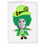 Irish St Patricks Day Jig, Photo Framed Head