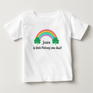 Irish St. Patrick's Day T-Shirt with Rainbow