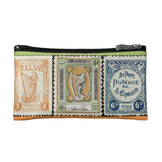 Irish Stamp Accessory Bag