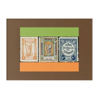 Irish Stamp Art