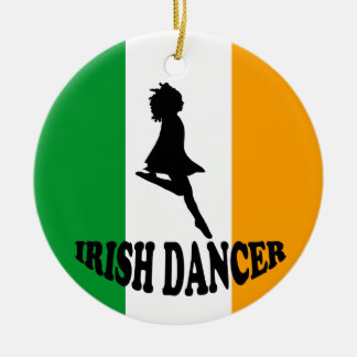 Irish Step Dancing Ornament