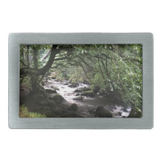 Irish Stream Rectangular Belt Buckle