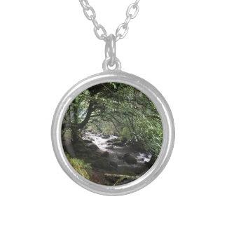 Irish Stream Silver Plated Necklace