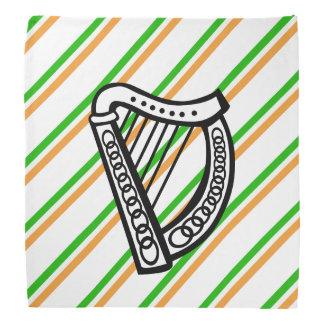 Irish stripes flag bandana