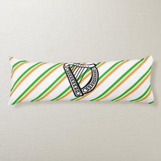 Irish stripes flag body pillow