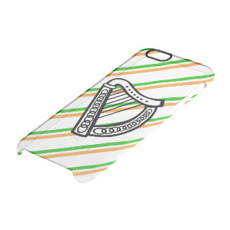 Irish stripes flag clear iPhone 6/6S case