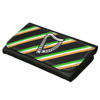 Irish stripes flag wallet