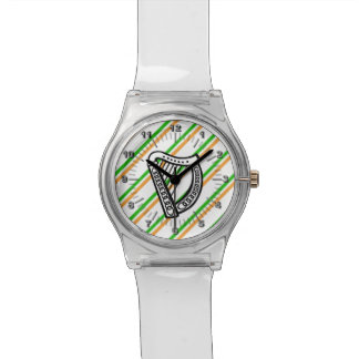 Irish stripes flag watch