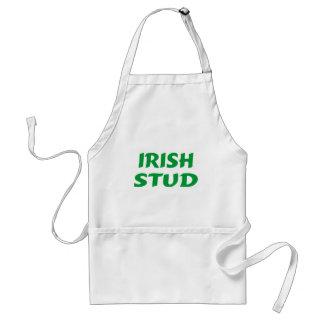 Irish Stud Green Standard Apron