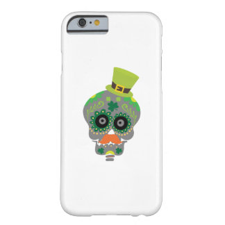 Irish Sugar Skull Funny St Patricks Day Barely There iPhone 6 Case