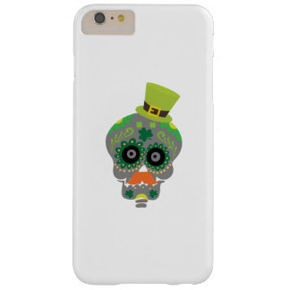 Irish Sugar Skull Funny St Patricks Day Barely There iPhone 6 Plus Case