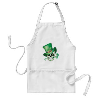 Irish Sugar Skull Standard Apron