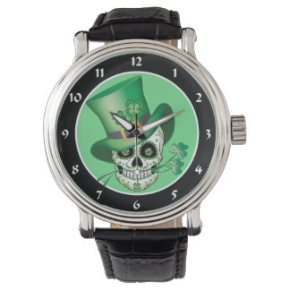 Irish Sugar Skull Watch