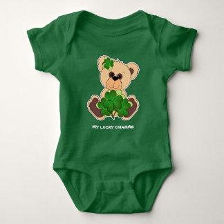 Irish Teddy Bear St.Patrick's Day Bodysuits