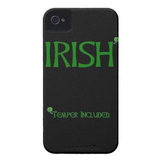 Irish Temper Included iPhone 4 Case