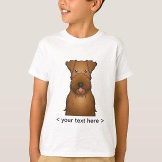 Irish Terrier Cartoon Personalized T-Shirt