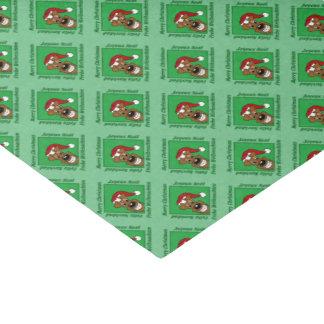 Irish Terrier Christmas Tissue Paper