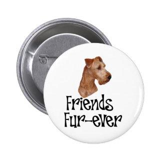 Irish Terrier Friends Fur-ever Pin
