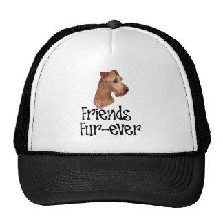 "Irish Terrier ""Friends Fur-ever"" Trucker Hat"