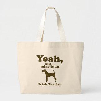 Irish Terrier Jumbo Tote Bag