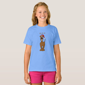Irish Terrier Santa T-Shirt