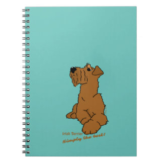 Irish Terrier - Simply the best! Note Books