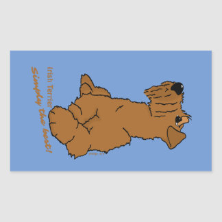 Irish Terrier - Simply the best! Sticker