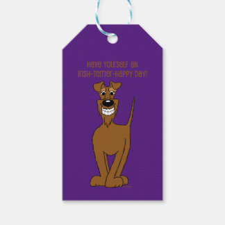 Irish Terrier Smile Gift Tags
