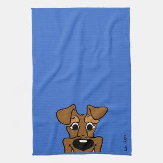 Irish Terrier Smile Kitchen Towel