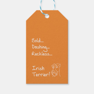 Irish Terrier the-hung Gift Tags