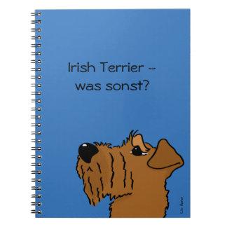 Irish Terrier - which otherwise? Spiral Notebooks