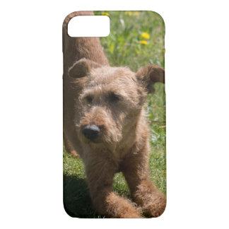 Irish Terrier Yoga iPhone 8/7 Case