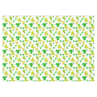 irish three leaves clover pattern tablecloth