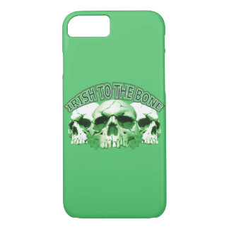 Irish to the Bone Skull iPhone 8/7 Case