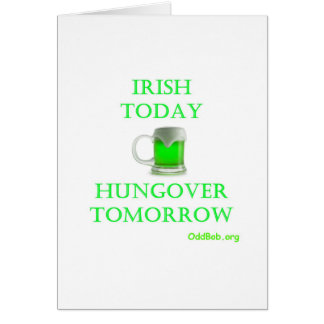 Irish Today Card