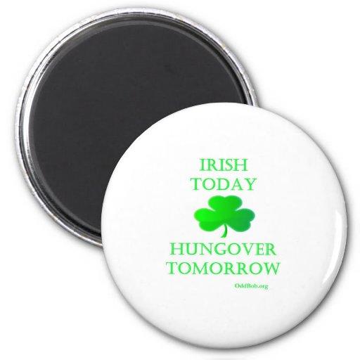 Irish Today Fridge Magnet