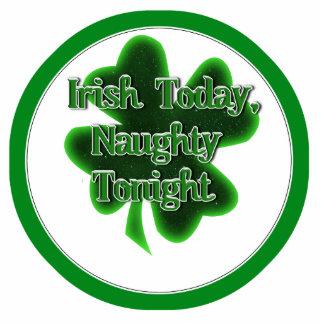 Irish Today, Naughty Tonight Photo Sculptures