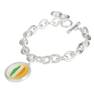 Irish touch fingerprint flag bracelets