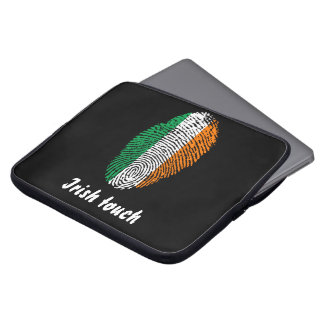 Irish touch fingerprint flag laptop computer sleeves