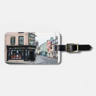 Irish Town Luggage Tag