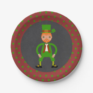 Irish Traditions Kids Birthday Party 7 Inch Paper Plate