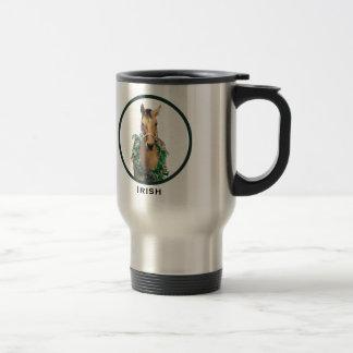 Irish Travel Mug - Design F