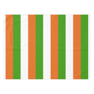 Irish Tricolor Party Tablecloth