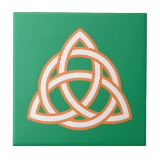 Irish Trinity Knot Triquetra Celtic Patricks Day Tile