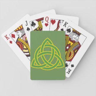 Irish Trinity Knott Playing Cards
