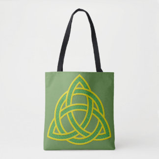 Irish Trinity Knott Tote Bag